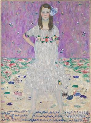 Gustav Painting - Mada Primavesi  by Celestial Images