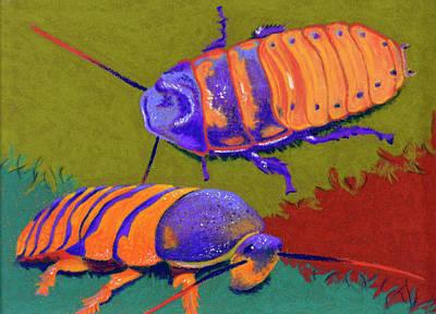 Madagascar Hissers Original by Tracy L Teeter