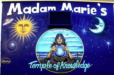 Madam Marie, Asbury Park Art Print by Bob Cuthbert