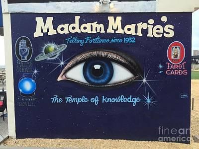 Madam Marie's Art Print by Daniel Diaz