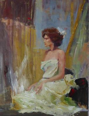 Hairdressing Painting - Madama Butterfly by Irena Jablonski
