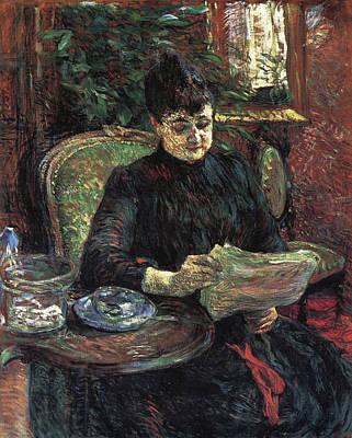 Female Painting - Madame Alice Gilbert by Henri de Toulouse-Lautrec