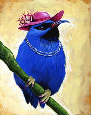 Madame Art Print by Amy Giacomelli