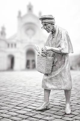 Photograph - Madame Chapeau by Iryna Goodall