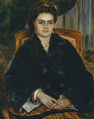Painting - Madame Edouard Bernier by Auguste Renoir