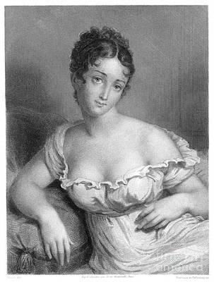 Drawing - Madame J.f. Recamier  by Granger