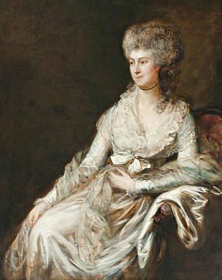 Madame Lebrun Art Print by Thomas Gainsborough