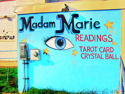 Gypsy Mixed Media - Madame Marie by Dominic Piperata
