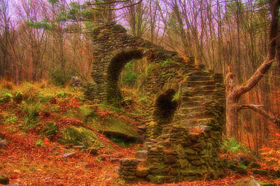Photograph - Madame Sherri Castle Ruins by Jeff Folger