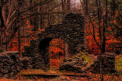 Photograph - Madame Sherris Castle Ruins by Jeff Folger
