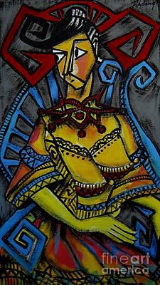 Madame  Art Print by Toadeng