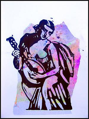 Madame Troubadour Art Print by Adam Kissel