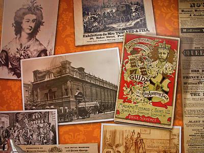 Photograph - Madame Tussauds History by Miroslava Jurcik