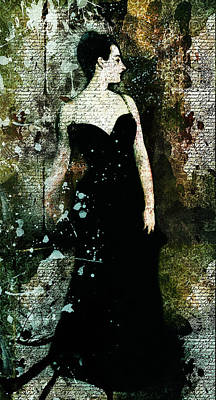 Mixed Media - Madame X Modern Art by Georgiana Romanovna