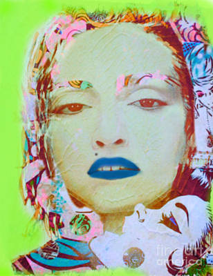 Dadaismus Painting - Madaonna Dadaismus by Felix Von Altersheim