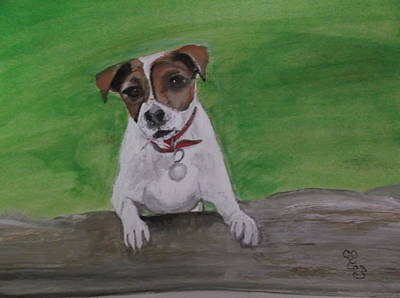 Painting - Maddie by Carole Robins