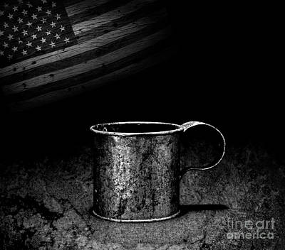Photograph - Made In America Tin Cup by John Stephens