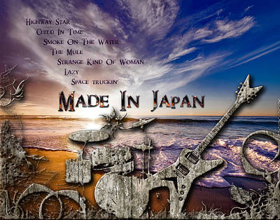 Digital Art - Made In Japan by Michael Damiani