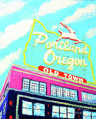 Painting - Made In Oregon by Eryn Tehan