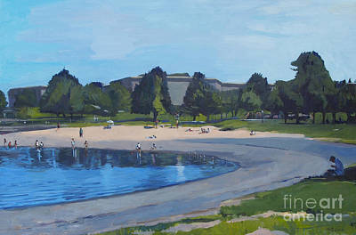 Southie Painting - Made In The Shade by Deb Putnam
