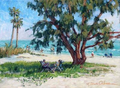 Painting - Made In The Shade by L Diane Johnson