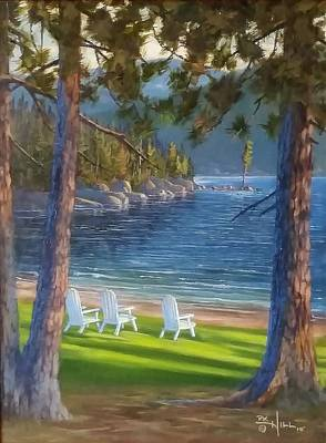 Painting - Made In The Shade by Paul K Hill