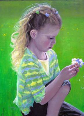 Madeline Art Print by Laurel Ellis