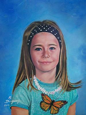Painting - Madeline by Sharon Duguay