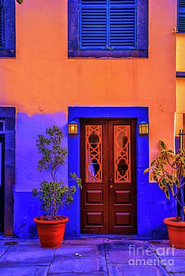 Photograph - Madera Door by Rick Bragan