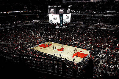 Derrick Rose Photograph - Madhouse On Madison  by Doyne Pereira