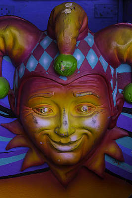 Nola Wall Art - Photograph - Madi Gras Jester by Garry Gay