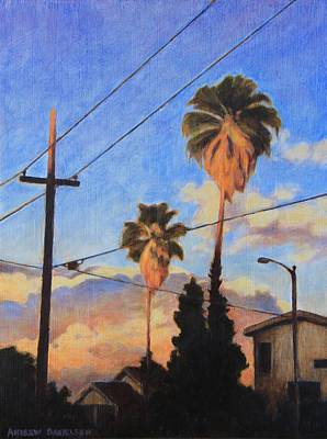 Painting - Madison Ave Sunset by Andrew Danielsen