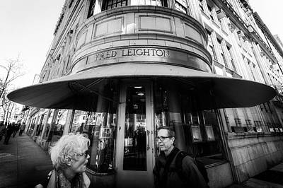Photograph - Madison Avenue Encounter by Alan Raasch