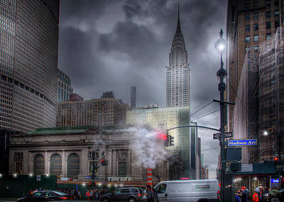 Travel Photograph - Madison Avenue by Mark Andrew Thomas