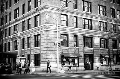 Photograph - Madison Avenue Walking by John Rizzuto