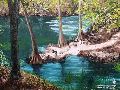 Madison Blue Springs Art Print