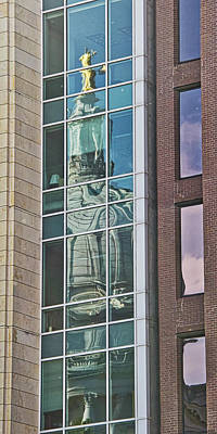 Photograph - Madison - Capitol Reflection by Steven Ralser