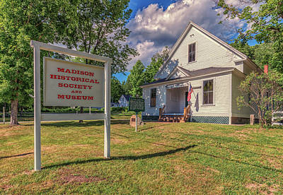 Photograph - Madison Historical Society by Brian MacLean