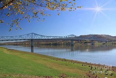 Photograph - Madison, Indiana Bridge  by Melissa  Mim Rieman