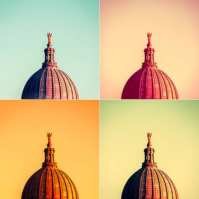 Photograph - Madison Polyptych by Todd Klassy