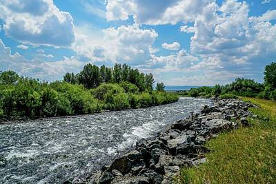 View Photograph - Madison River by Ric Schafer