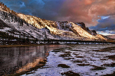 Photograph - Madison River by Steve Stuller