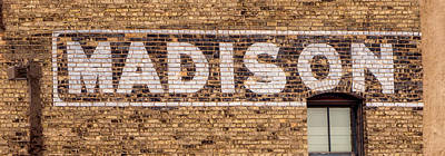 Photograph - Madison Sign- Madison, Wi by Steven Ralser