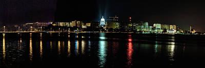 Photograph - Madison Skyline by Randy Scherkenbach