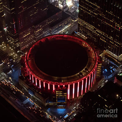 Madison Square Garden Aerial Art Print