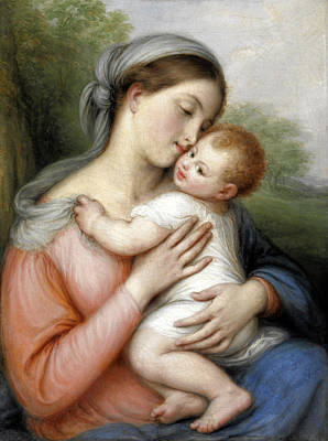 Painting - Madonna And Child by Giovanni Carnovali