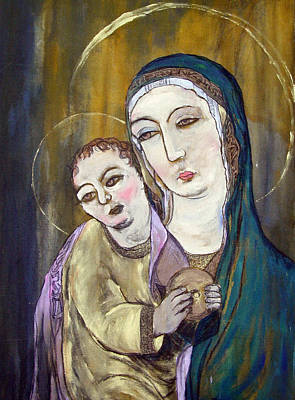 Painting - Madonna And Child by Julie Davis