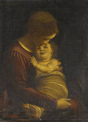 Painting - Madonna And Child by Luca Cambiaso