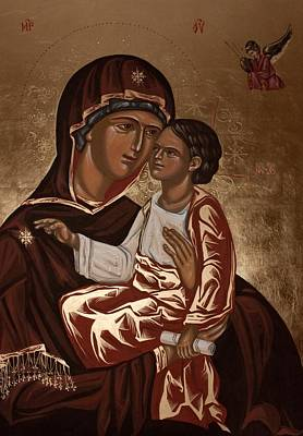 Painting - Madonna And Child by Olimpia - Hinamatsuri Barbu