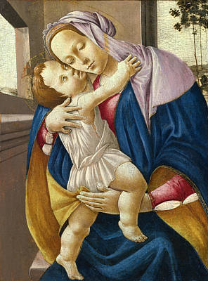 Sandro Botticelli Painting - Madonna And Child by Sandro Botticelli and Studio